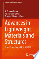 Advances in Lightweight Materials and Structures Book