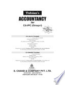 Accountancy with Quick Revision (For CA-IPC, Group -I), 11th Edition