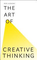 The Art of Creative Thinking Pdf/ePub eBook