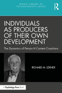 Individuals as Producers of Their Own Development