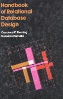 Handbook of Relational Database Design