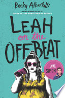 Leah on the Offbeat Becky Albertalli Cover