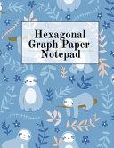 Hexagonal Graph Paper Notepad