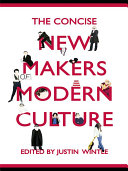 Pdf The Concise New Makers of Modern Culture Telecharger
