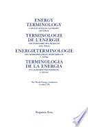 Energy Terminology