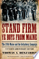 Stand Firm Ye Boys from Maine Pdf/ePub eBook