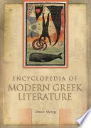 """Encyclopedia of Modern Greek Literature"" by Bruce Merry, Greenwood Press"