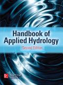 Handbook of Applied Hydrology, Second Edition Pdf/ePub eBook