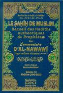 Pdf Le Sahih De Muslim Recueil des Hadiths authentiques de prophete avec commentaire D'Al-Nawawi 1-10 Vol 10 Telecharger
