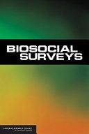 Biosocial Surveys