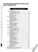 Ohio Agricultural Statistics and Ohio Department of Agriculture Annual Report Book