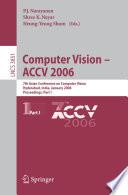 Computer Vision   ACCV 2006