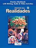 Prentice Hall Spanish  Realidades Practice Workbook Writing Level 2 2005c
