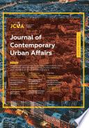 Journal of Contemporary Urban Affairs  Vol 2 No 1  2018