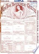 New York Amusement Gazette