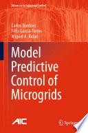 Model Predictive Control of Microgrids Book