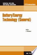 Battery Energy Technology General  Book PDF