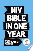 NIV Alpha Bible In One Year