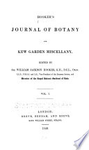 Hooker's Journal of Botany and Kew Garden Miscellany.epub