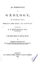 An Introduction to Geology  and Its Associate Sciences Book