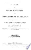 Actes du Parlement de la puissance du Canada  , Bände 56-57