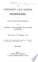 The Students And School Shakspeare Etc Third Edition Book PDF