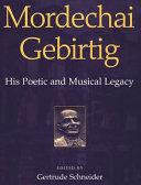 Pdf Mordechai Gebirtig