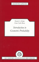 Introduction to Geometric Probability