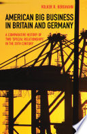 American Big Business in Britain and Germany Book PDF