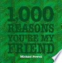 1,000 Reasons You're My Friend Pdf/ePub eBook