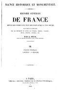 France historique et monumentale