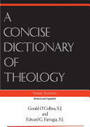 A Concise Dictionary of Theology Pdf/ePub eBook