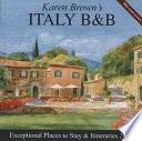 Karen Brown's Italy B&B