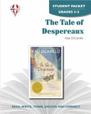 The Tale of Despereaux Student Packet Book