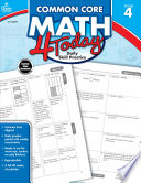 Common Core Math 4 Today  Grade 4 Book