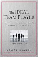 The Ideal Team Player [Pdf/ePub] eBook