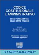 Codice costituzionale e amministrativo