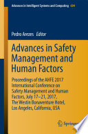 Advances in Safety Management and Human Factors Book