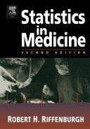 Statistics in Medicine Book