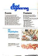 Chilton s Food Engineering