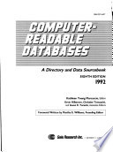 Computer-readable databases