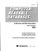 Computer readable databases