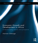 Economic Growth and Development in Africa