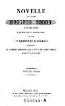 Novelle del Conte Gaspare Gozzi