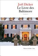 Pdf Le Livre des Baltimore Telecharger