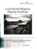 Local Hazard Mitigation Planning Workbook Book
