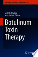 Botulinum Toxin Therapy Book
