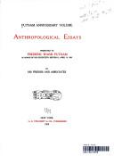 ANTHROPOLOGICAL ESSAYS