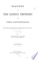 History of the German emperors and their contemporaries