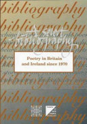 Poetry In Britain And Ireland Since 1970